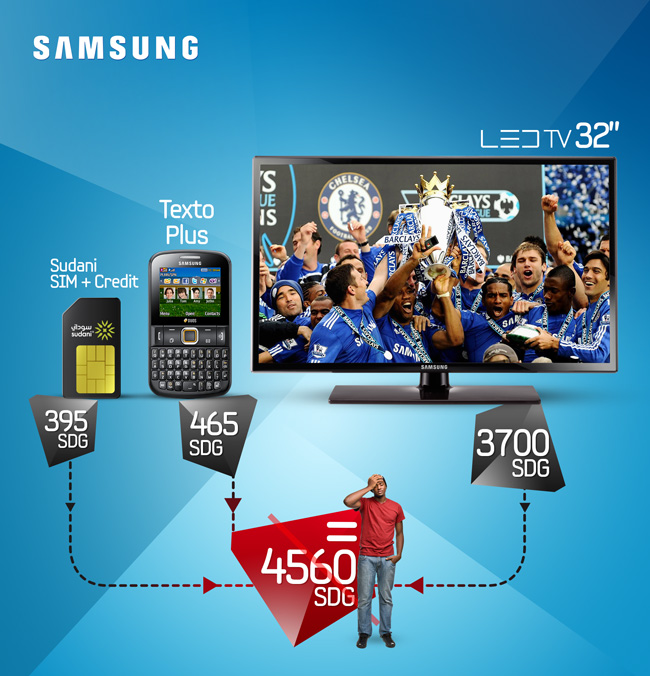 Samsung LED Texto-Mobile Offer