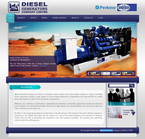 Diesel Generators Company Ltd., Sudan (DGC)